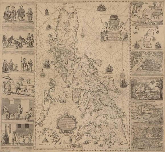 Mapa M.V.